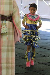 Little Girl Dancing at GreenCorn
